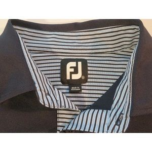 FootJoy Shirts - FootJoy Heathrow Golf Country Club Polo Shirt Navy